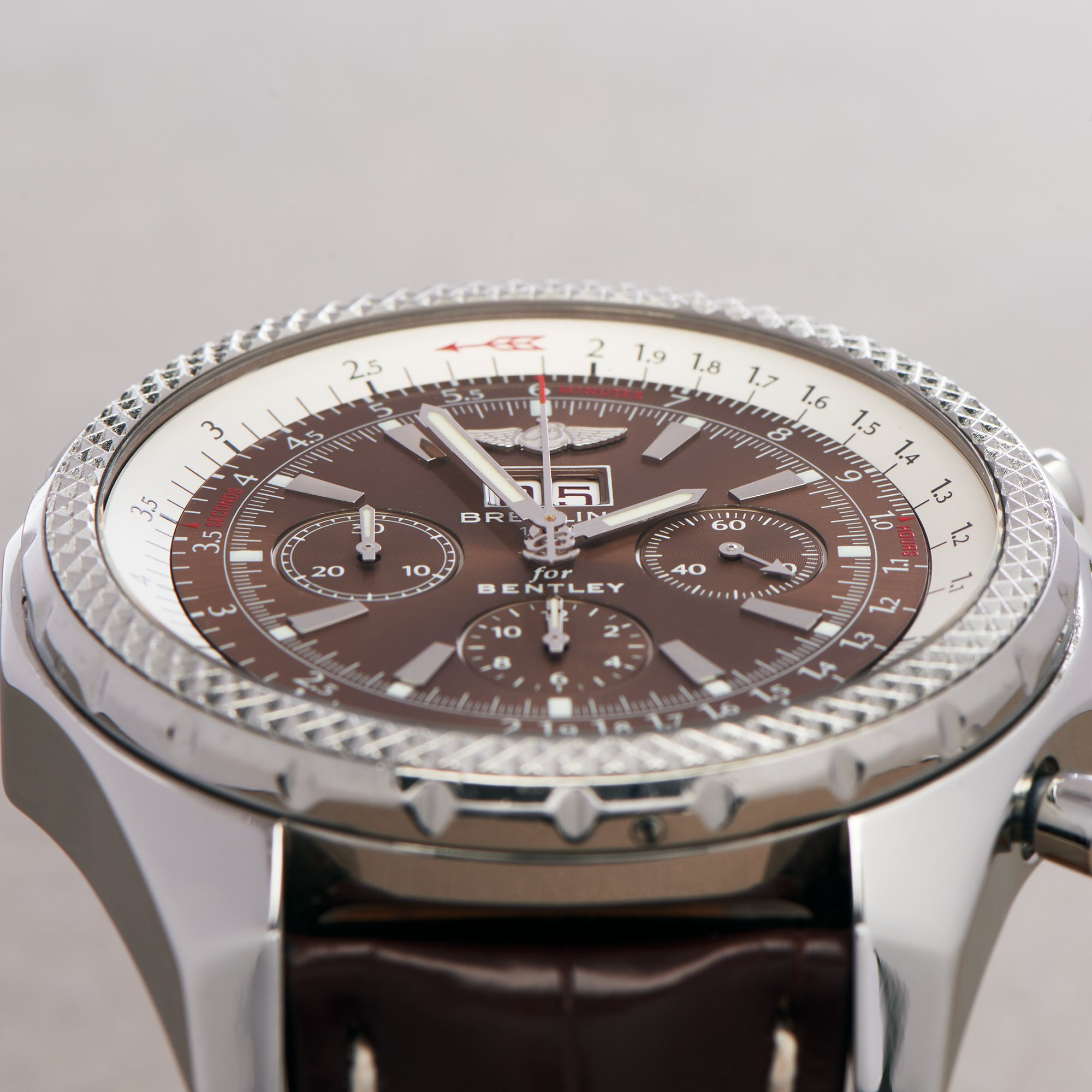Breitling Bentley Stainless Steel A44362