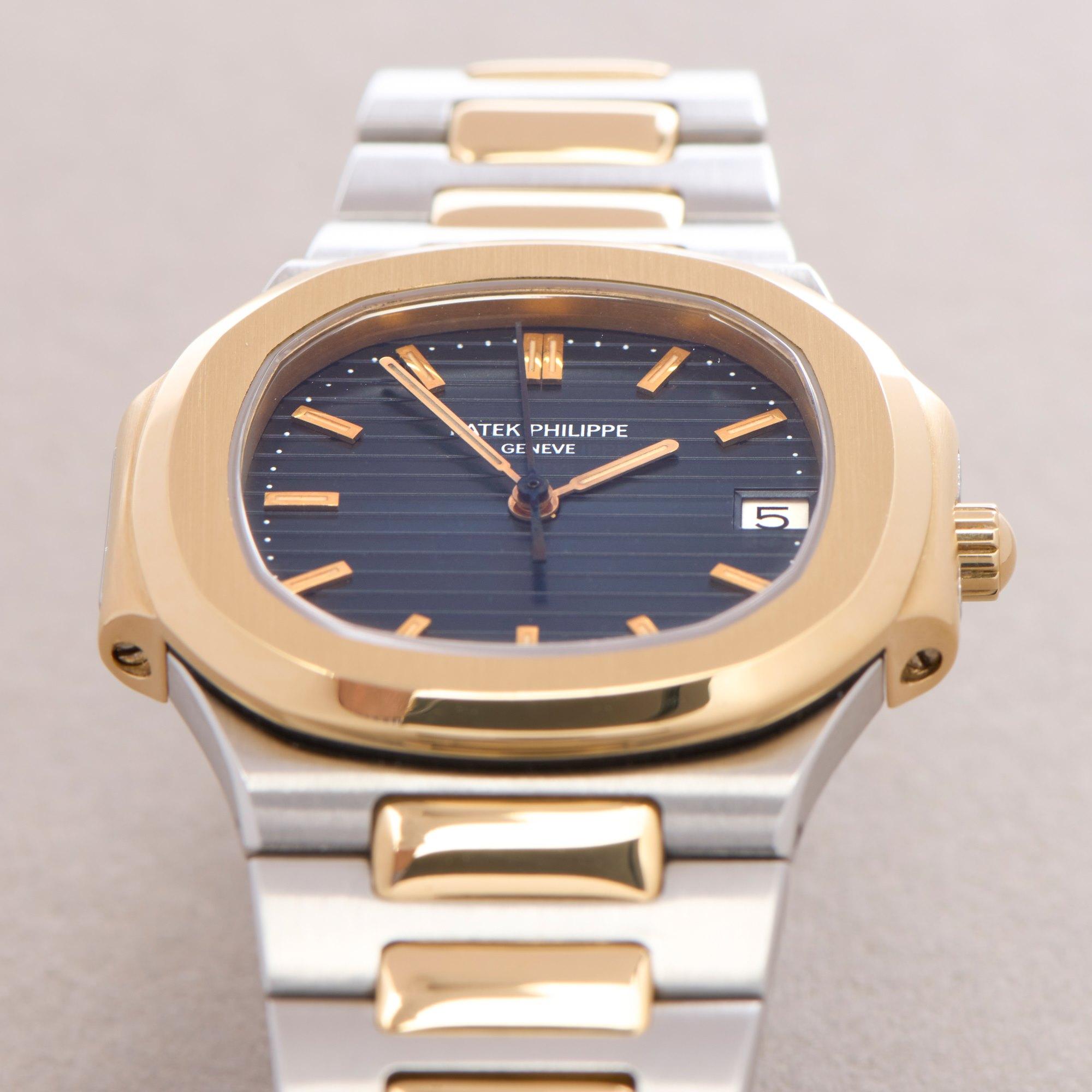 Patek Philippe Nautilus 18K Yellow Gold & Stainless Steel 3900