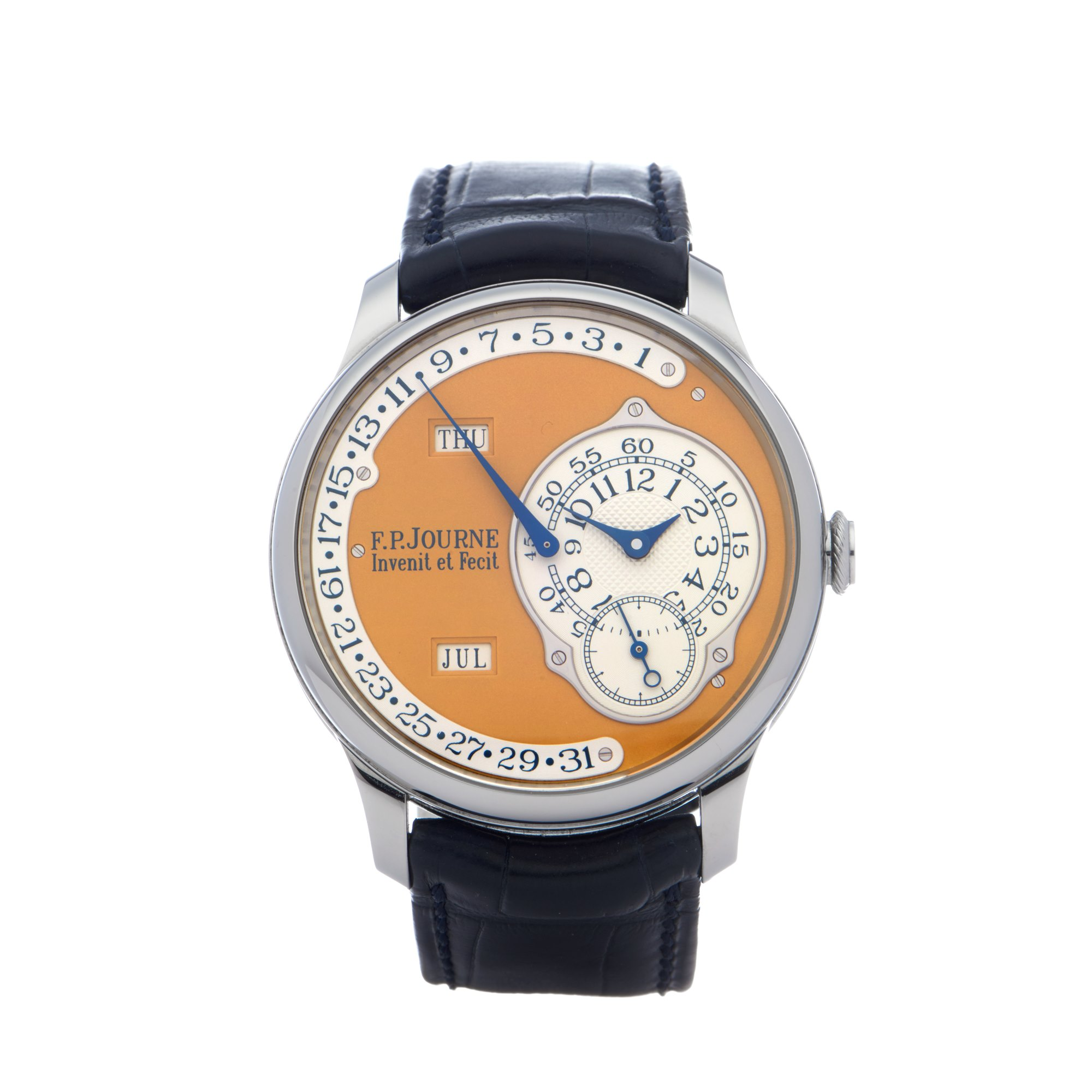 F.P Journe Octa Calendrier Limited Edition of 38 Pieces Stainless Steel Stainless Steel