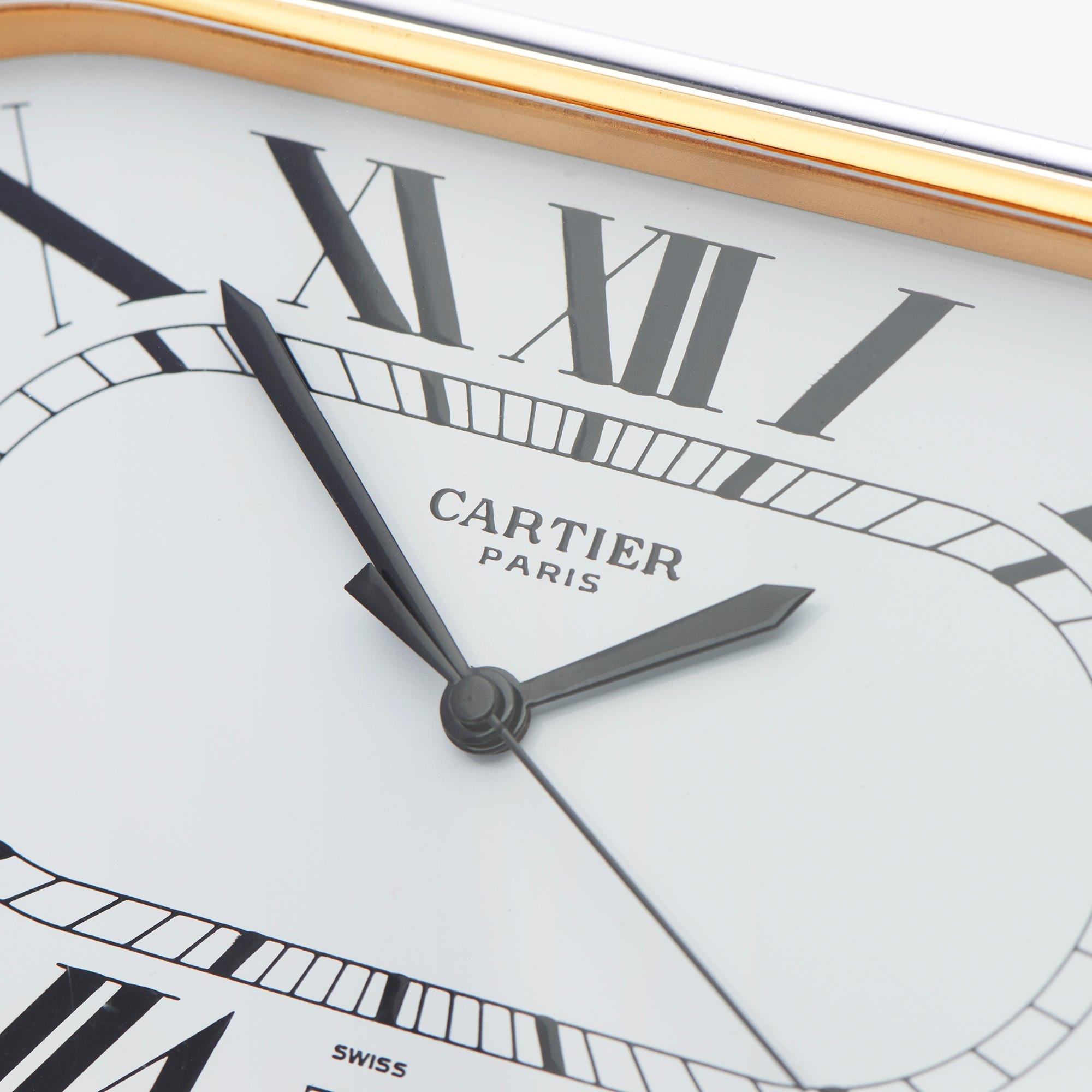 Cartier Must de Cartier Clock Bronze 7531