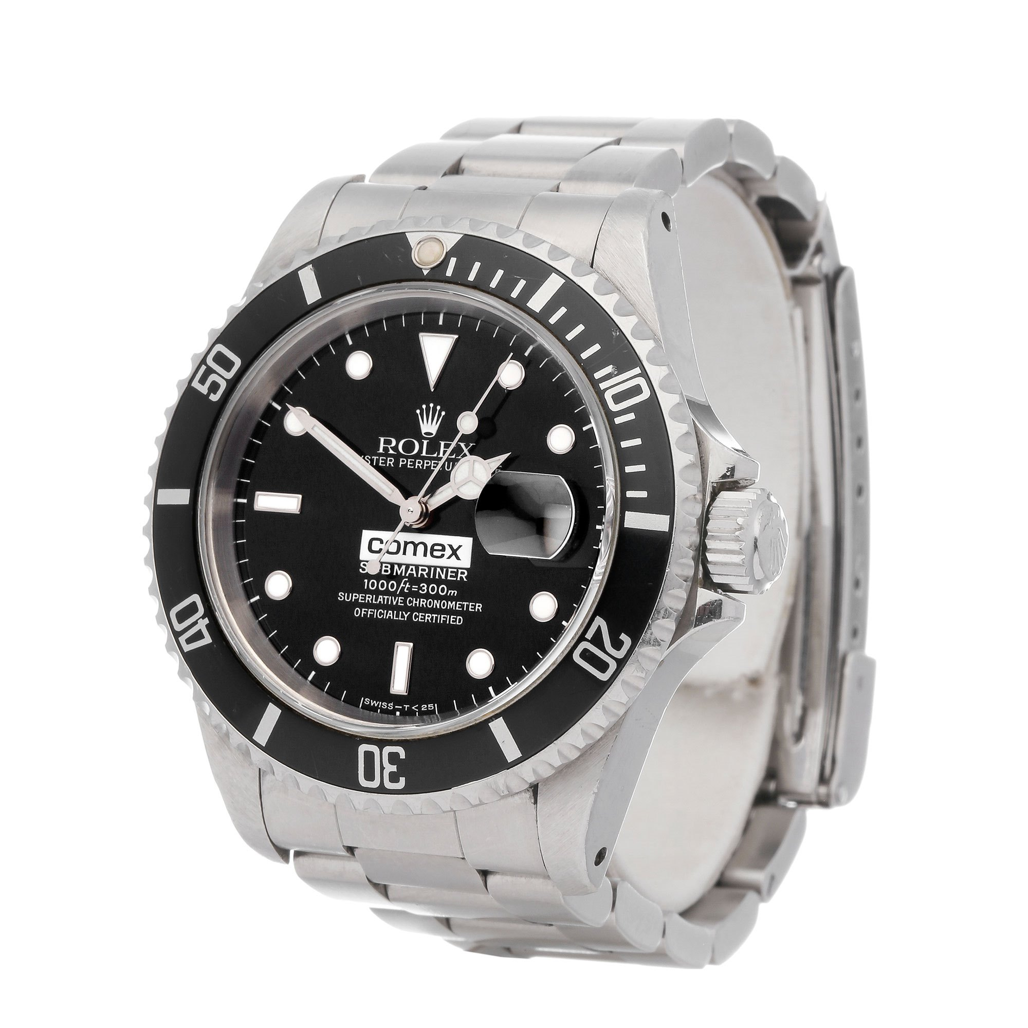 Rolex Submariner 'Comex' Stainless Steel - 16610 Stainless Steel 16610