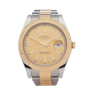 Rolex Datejust 41 18K Stainless Steel - 116333