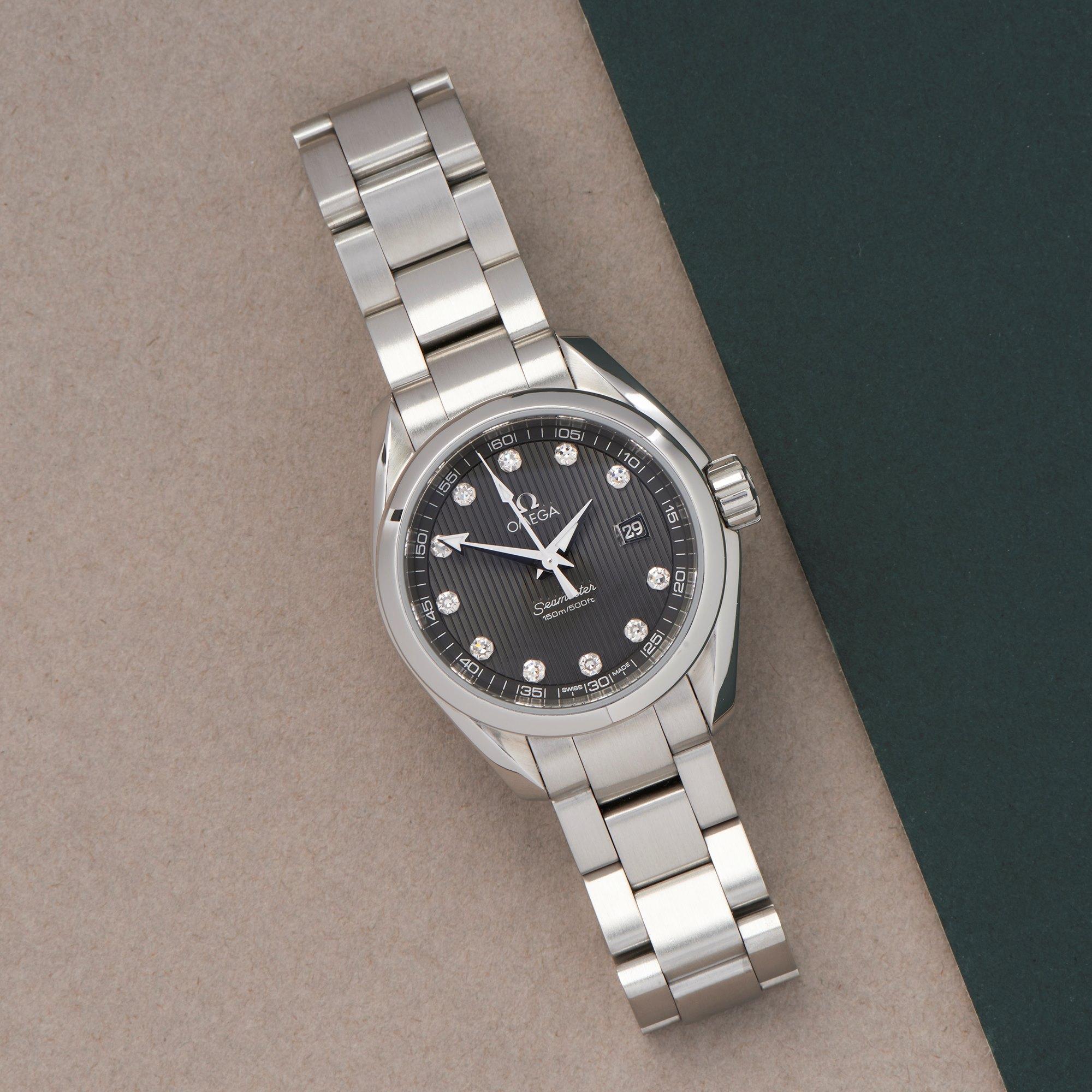 Omega Seamaster Aqua Terra Roestvrij Staal 23110306156001