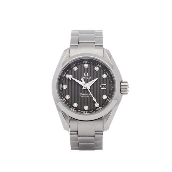 Omega Seamaster Aqua Terra Stainless Steel - 23110306156001