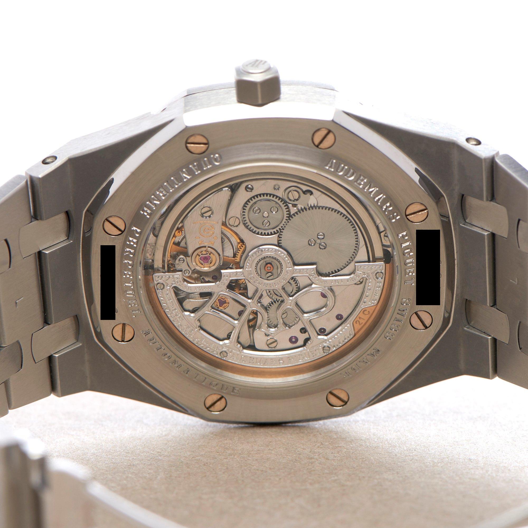 Audemars Piguet Royal Oak Perpetual Calendar Stainless Steel 25820ST