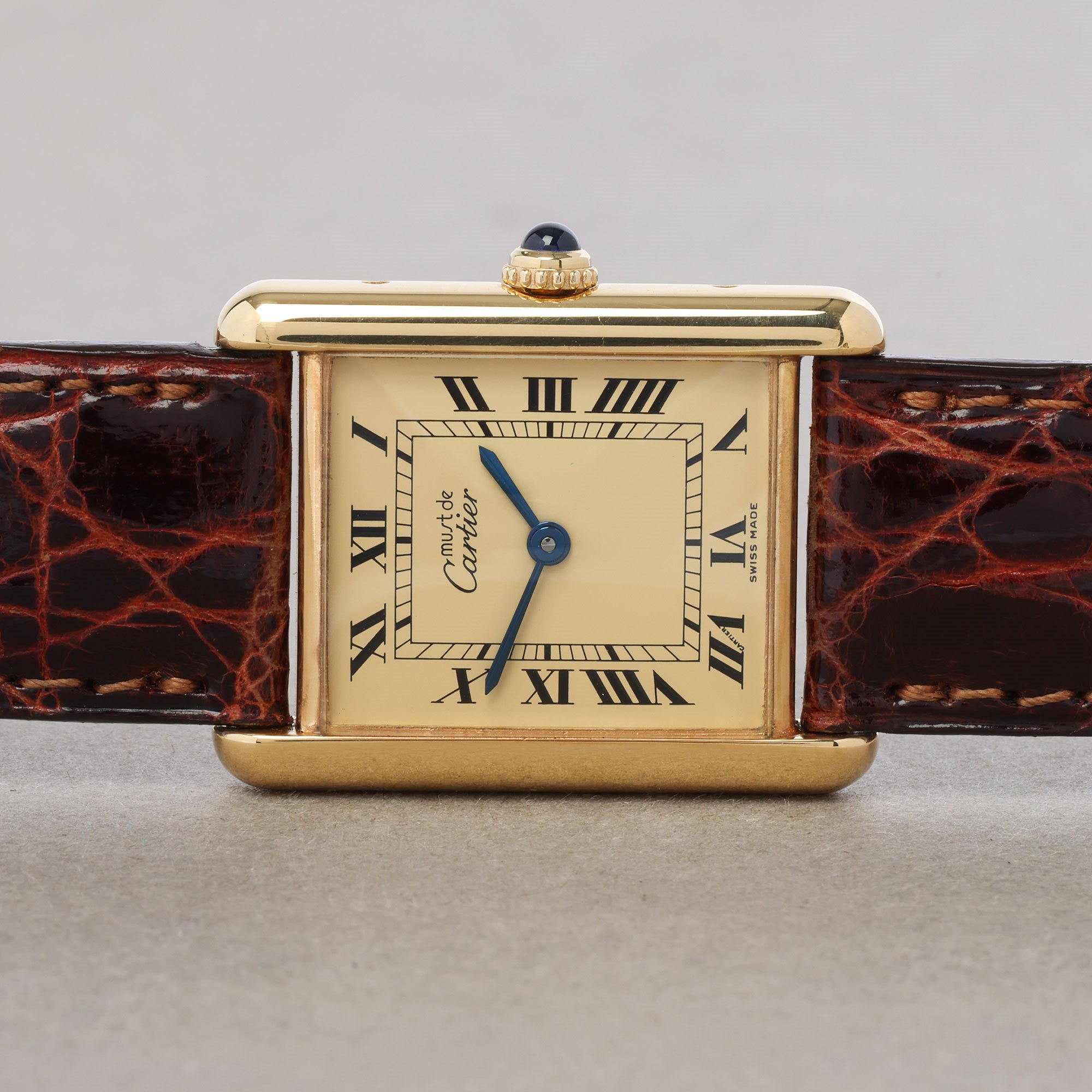 Cartier Must de Cartier 18K Gold Plated 71822