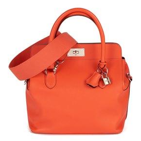 Hermès Feu Evercolour Leather Toolbox 26