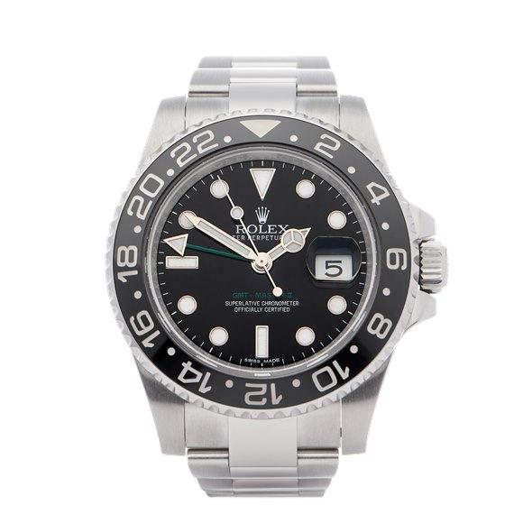 Rolex GMT-Master II Stainless Steel - 116710LN
