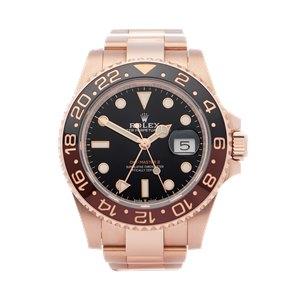 Rolex GMT-Master II 18K Rose Gold - 126715CHNR