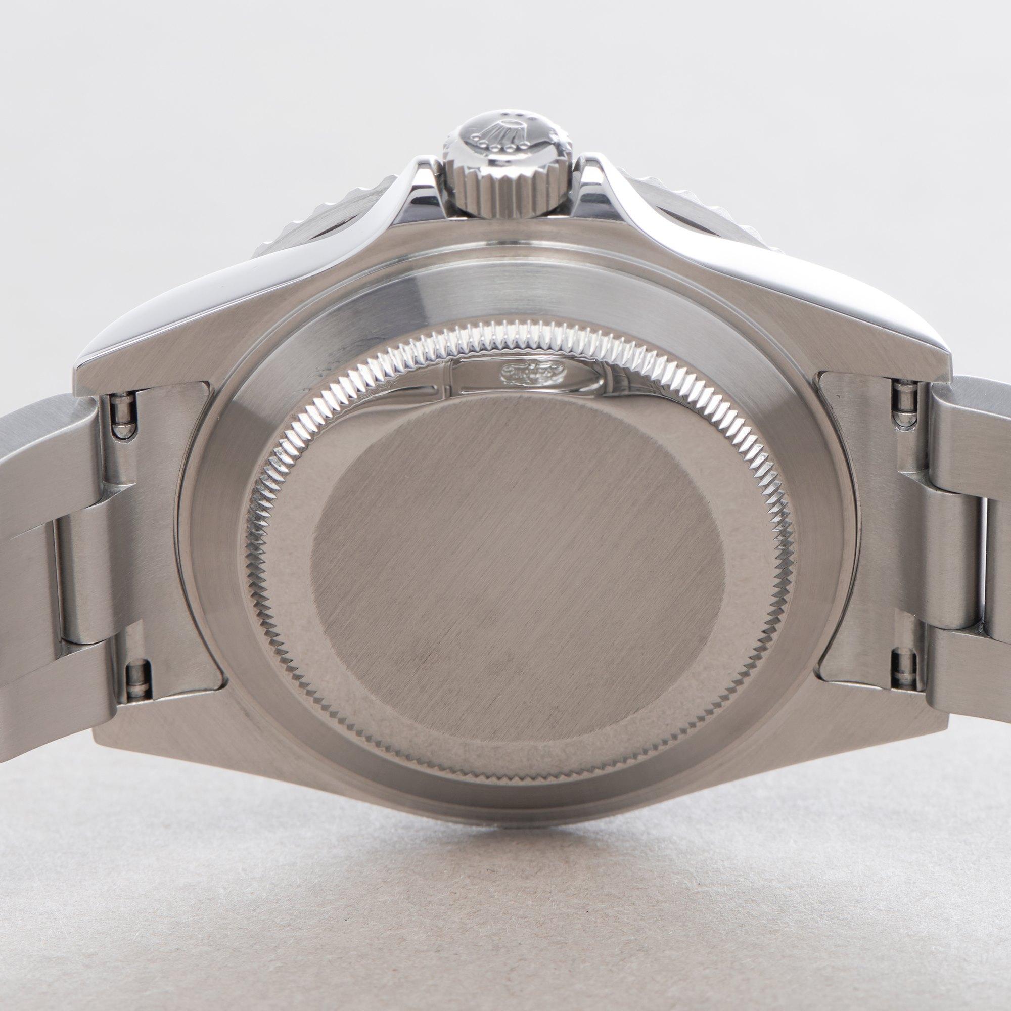 Rolex Submariner Kermit, Engraved Rehaut Stainless Steel 16610LV