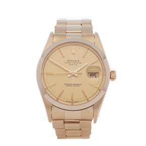 Rolex Oyster Perpetual 14K Yellow Gold - 15007