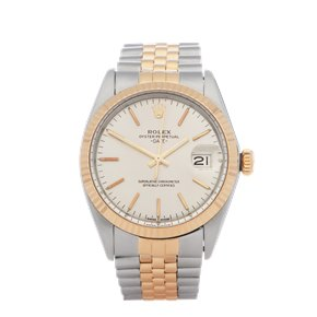 Rolex Oyster Perpetual 18K Yellow Gold & Stainless Steel - 1505