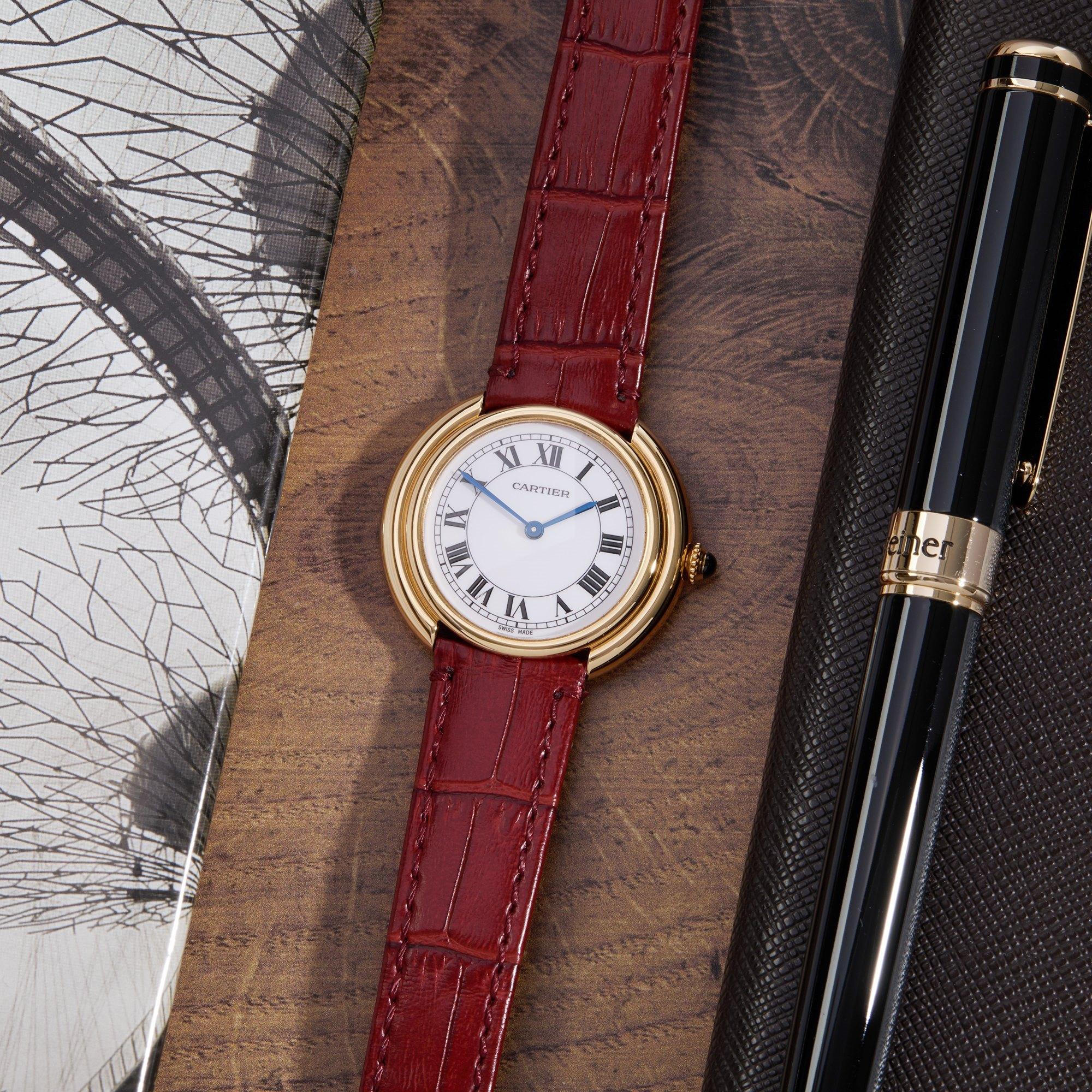 Cartier Vendome 18K Geel Goud 78090