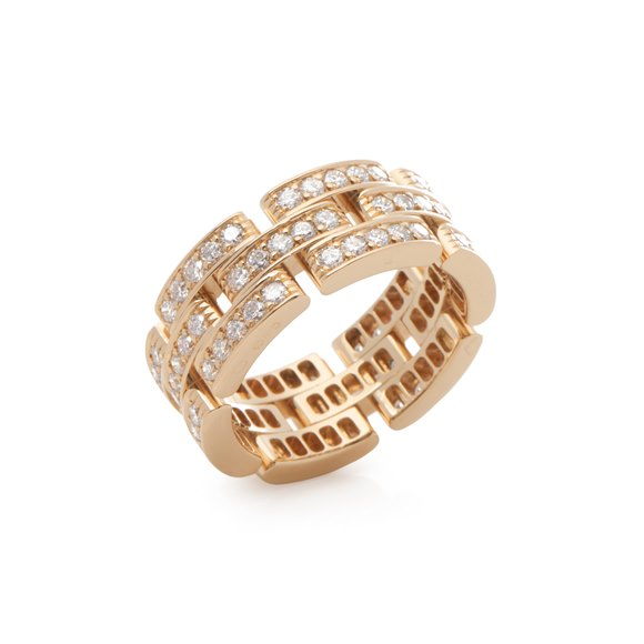 Cartier Maillon Panthere Diamond Ring