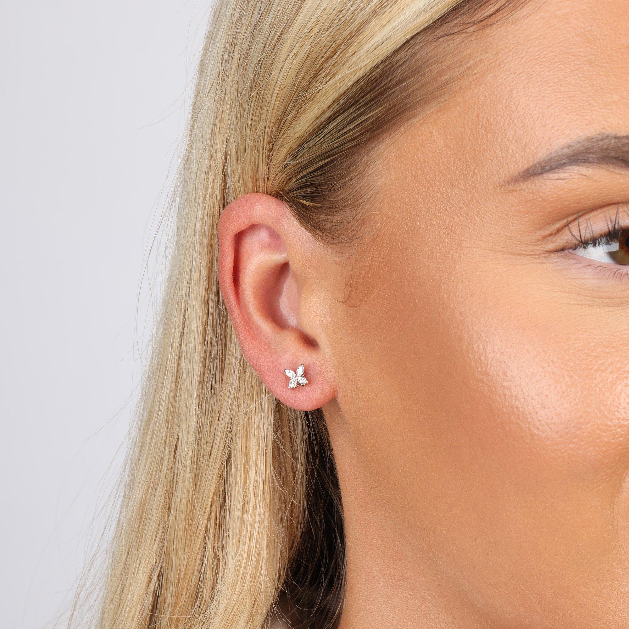 Tiffany & Co Mini Victoria Stud Earrings