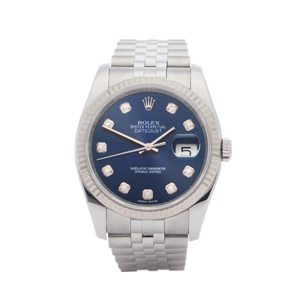 Rolex Datejust 36 Stainless Steel - 116234