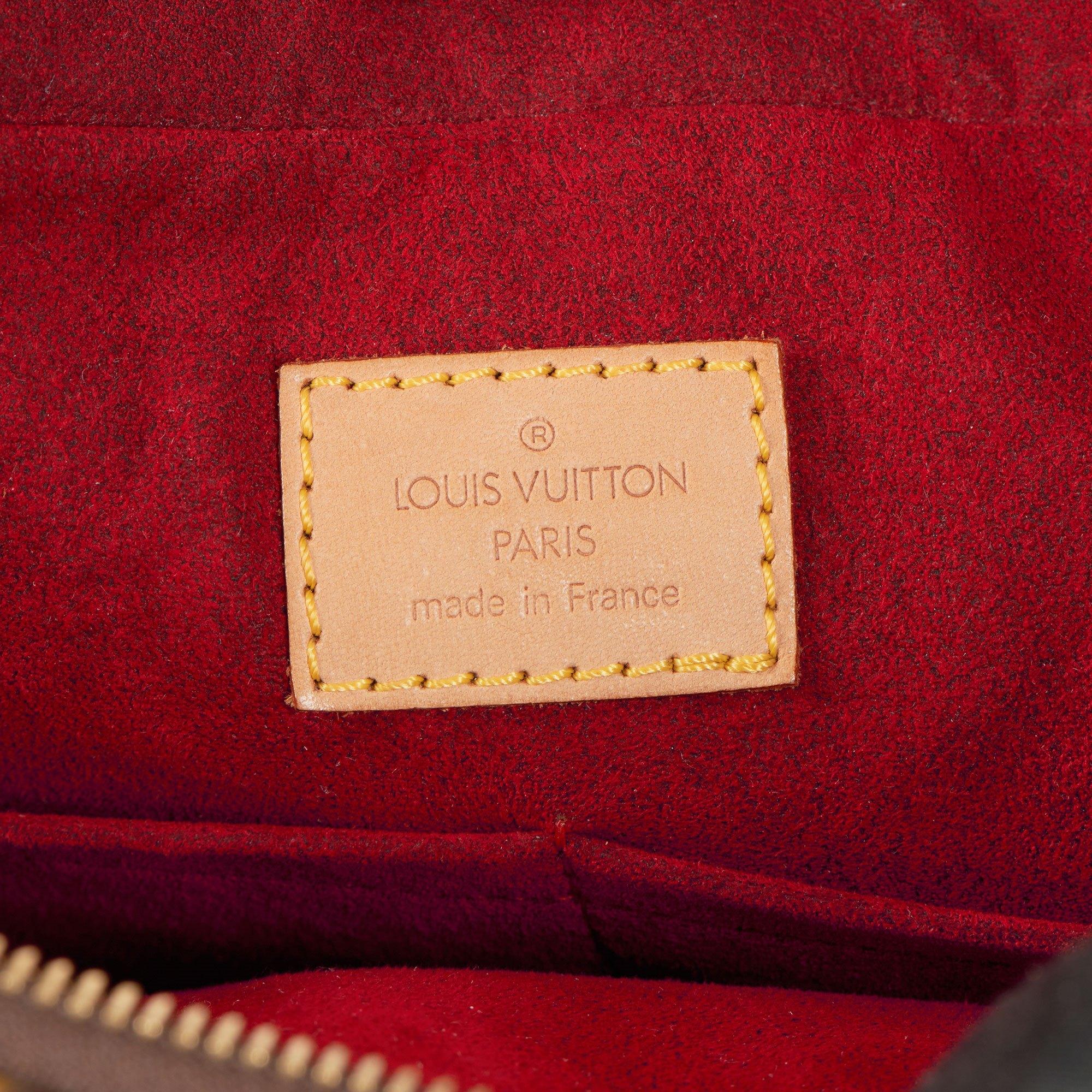 Louis Vuitton Brown Monogram Coated Canvas & Vachetta Leather Multipli Cite