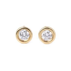 Tiffany & Co. Elsa Peretti Diamonds by the Yard Stud earrings