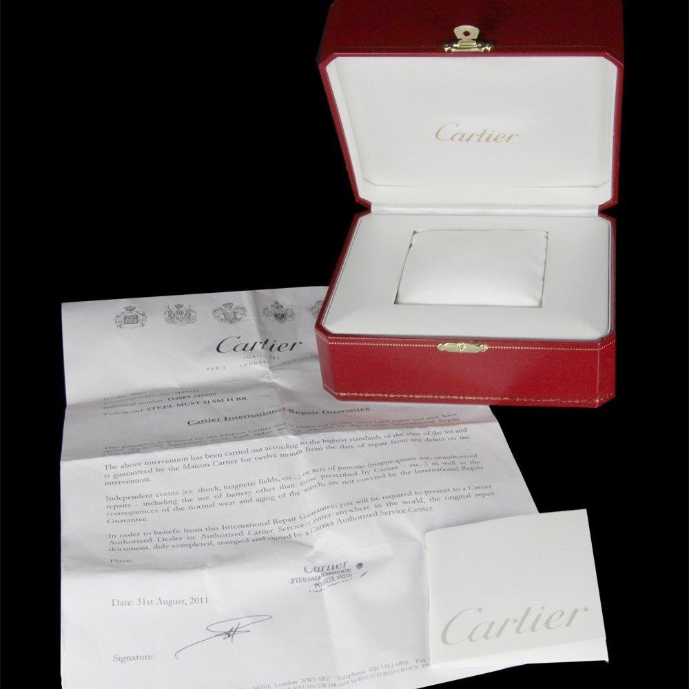 Cartier Must De Cartier Stainless Steel W10110T2