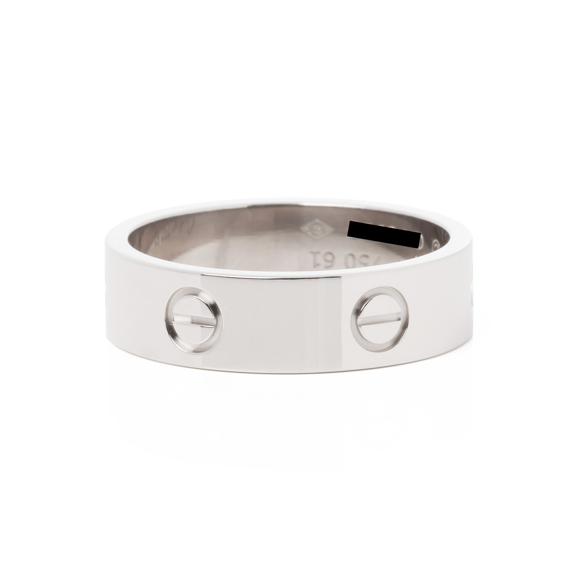 Cartier Love 18ct White Gold Ring