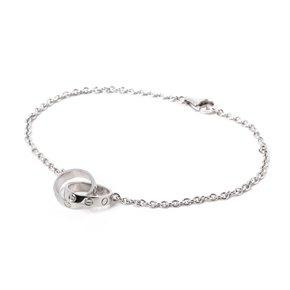 Cartier Love 18ct White Gold Bracelet