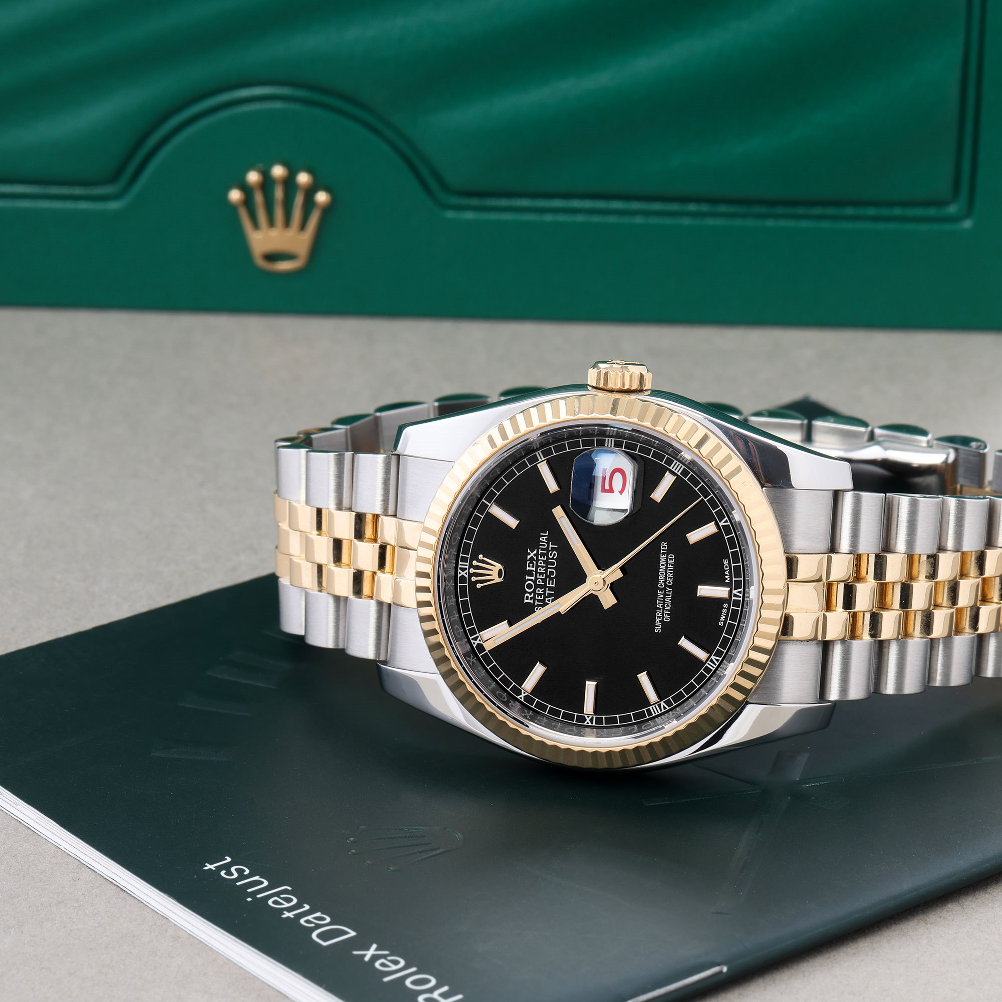 Rolex Datejust 18K Yellow Gold & Stainless Steel 116233