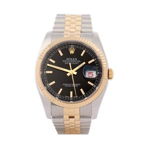 Rolex Datejust 18K Yellow Gold & Stainless Steel - 116233