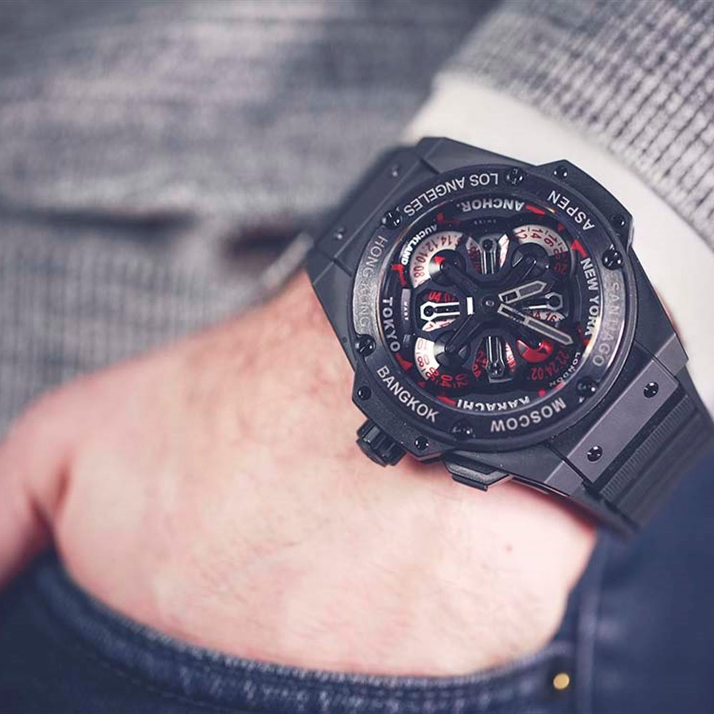 Hublot Big Bang King Power GMT Unico Black Ceramic 771.CI.1170.RX