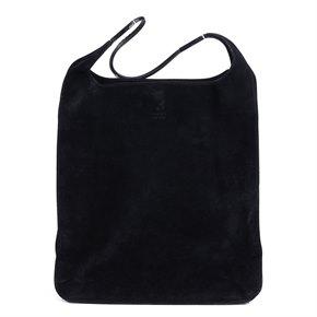 Gucci Black Suede Vintage Shoulder Bag