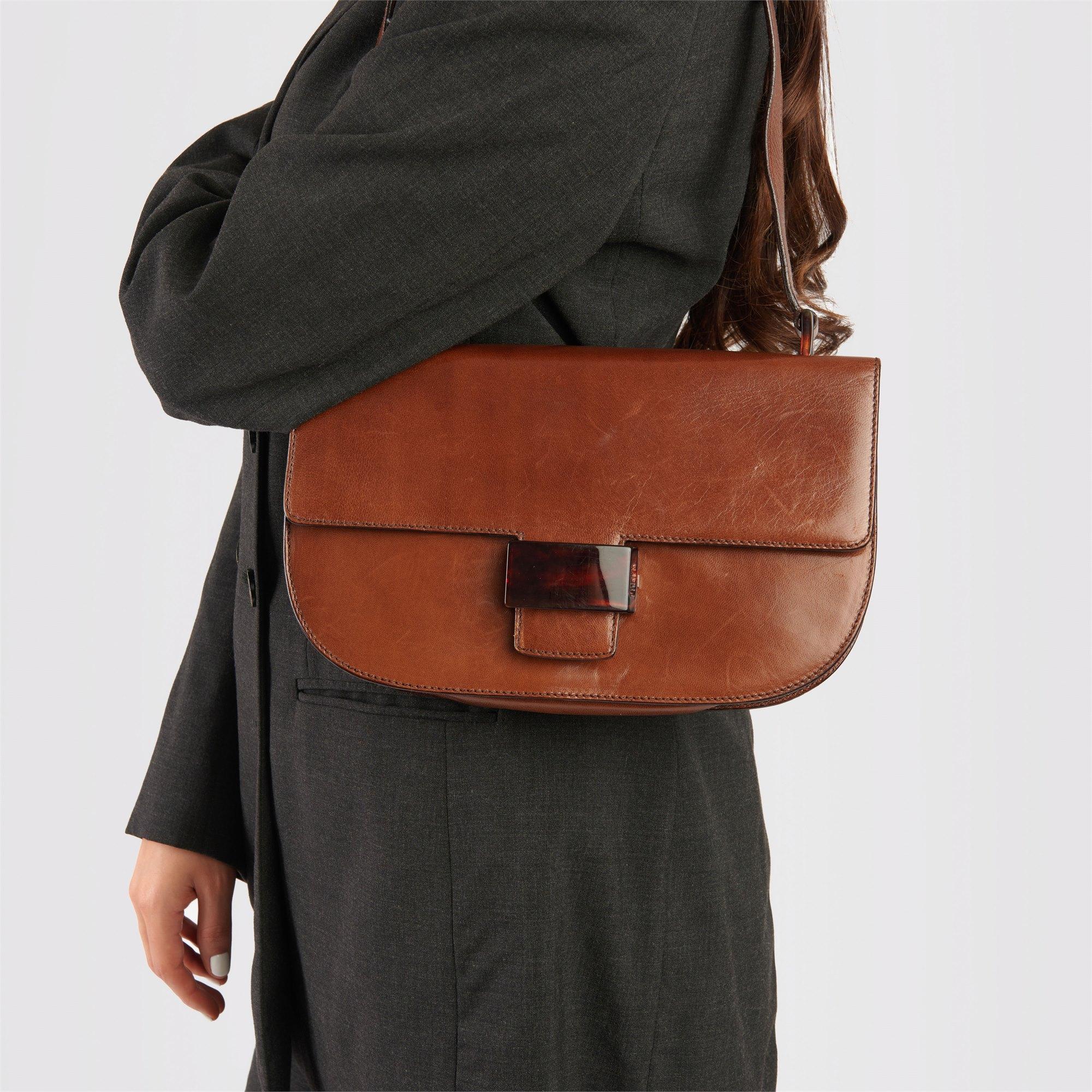 Prada Corino Calfskin Leather Vintage Bachel