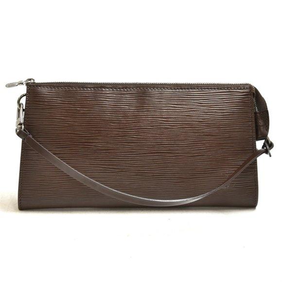 Louis Vuitton  Mocha Brown Epi Leather Pochette Accessories