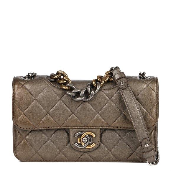 Medium Perfect Edge Flap Bag