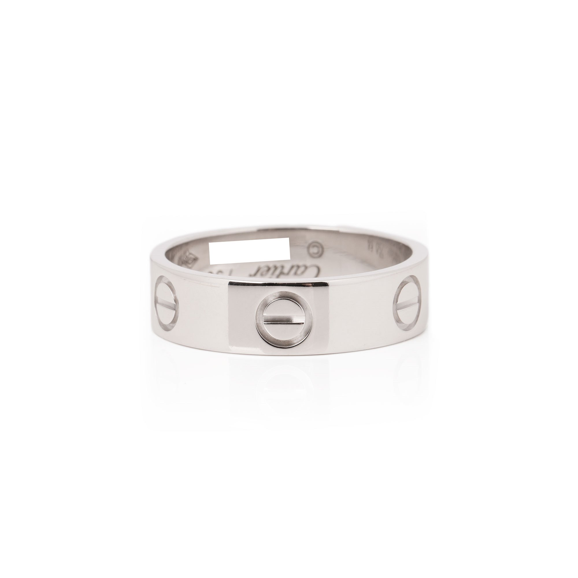 Cartier 18ct White Gold Love Ring