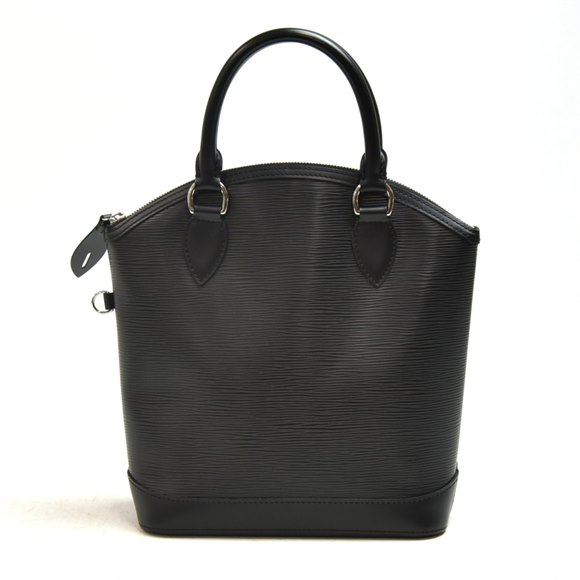 Louis Vuitton Black Epi Leather Lockit