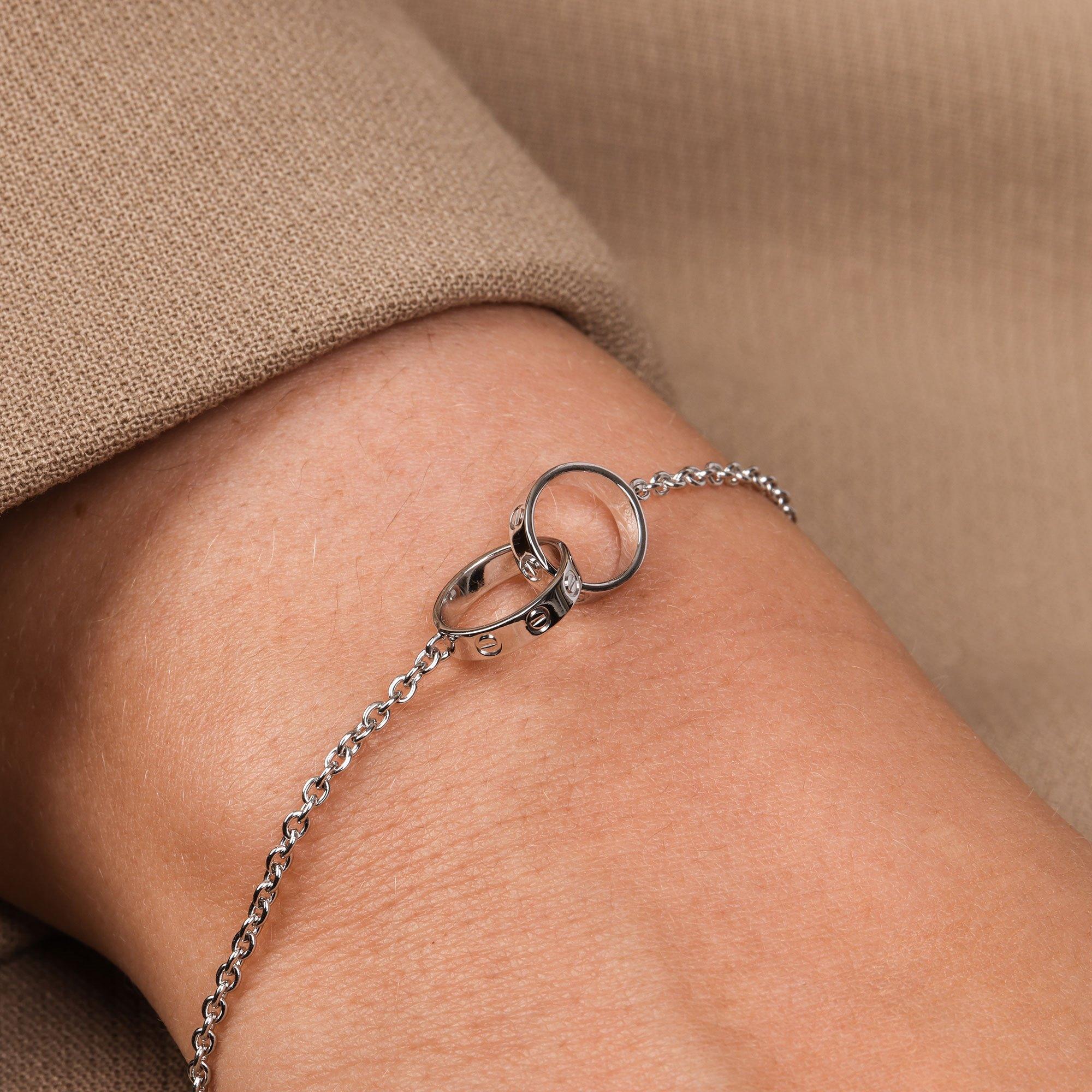 Cartier 18ct White Gold Bracelet