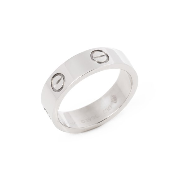 Cartier 18ct White Gold Ring