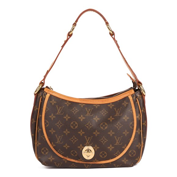 Louis Vuitton Brown Monogram Coated Canvas & Vachetta Leather Tikal GM