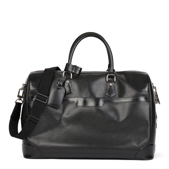 Louis Vuitton Black Epi Leather Bourget 50