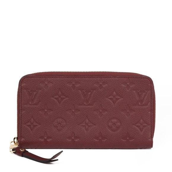 Louis Vuitton Flamme Monogram Empreinte Leather Secret Long Wallet