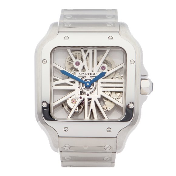 Cartier Santos Stainless Steel - WHSA0007