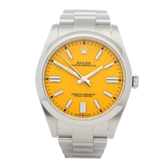 Rolex Oyster Perpetual Stainless Steel - 124300
