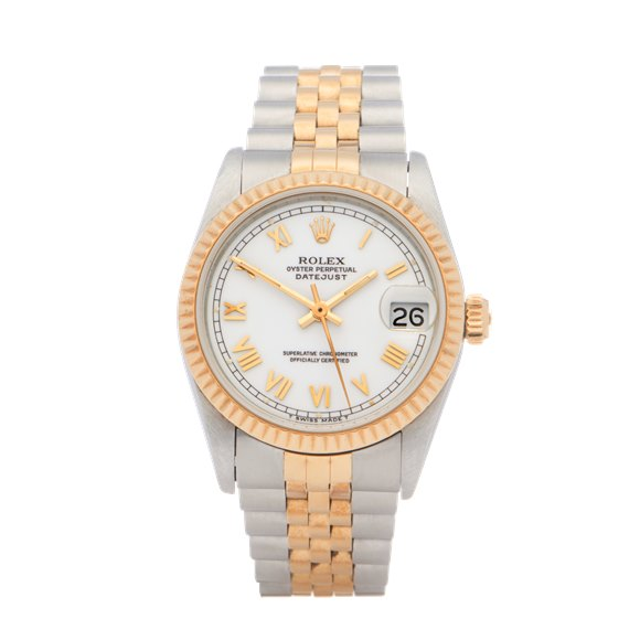 Rolex Datejust 31 18K Yellow Gold & Stainless Steel - 68273