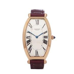 Cartier Tonneau 18K Rose Gold - W1530551