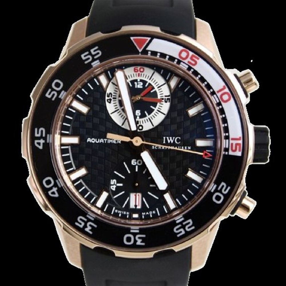 IWC Aquatimer Chronograph 18k Rose Gold IW376903