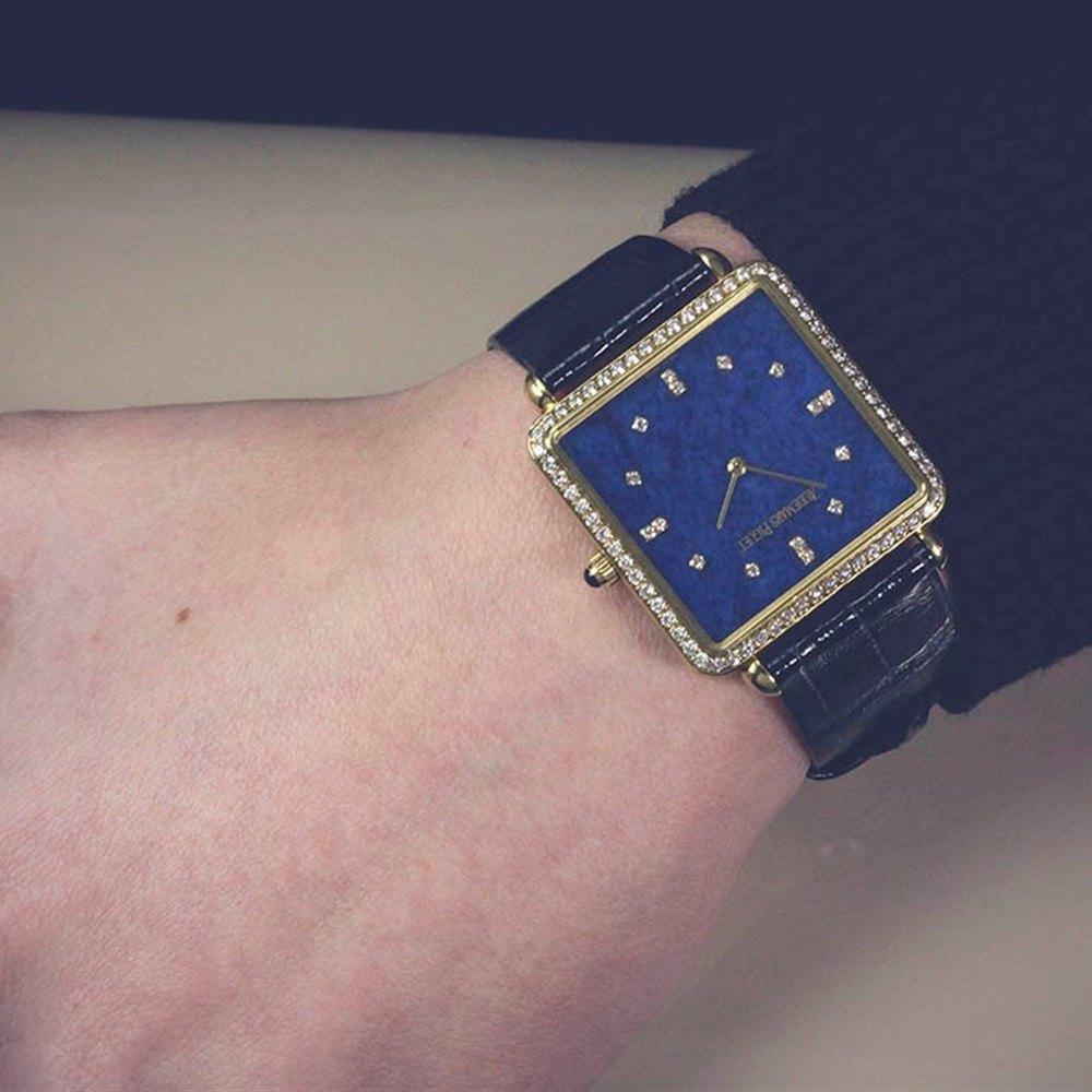 Audemars Piguet Millenary Diamonds Lapiz 18k Yellow Gold 14902BA/002