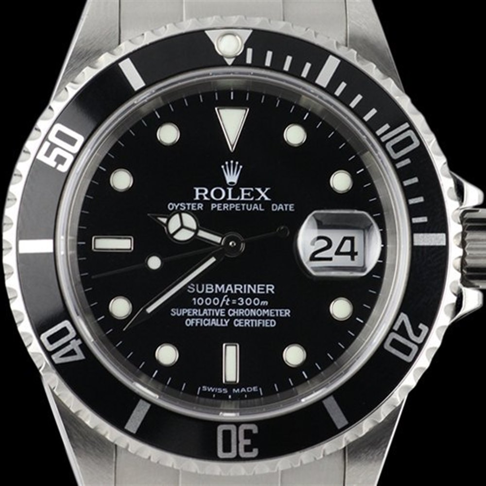fdff0aa06f48 Pre-owned Rolex Watch Submariner 16610