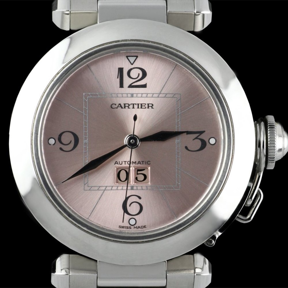 Cartier Pasha Stainless Steel W31058M7