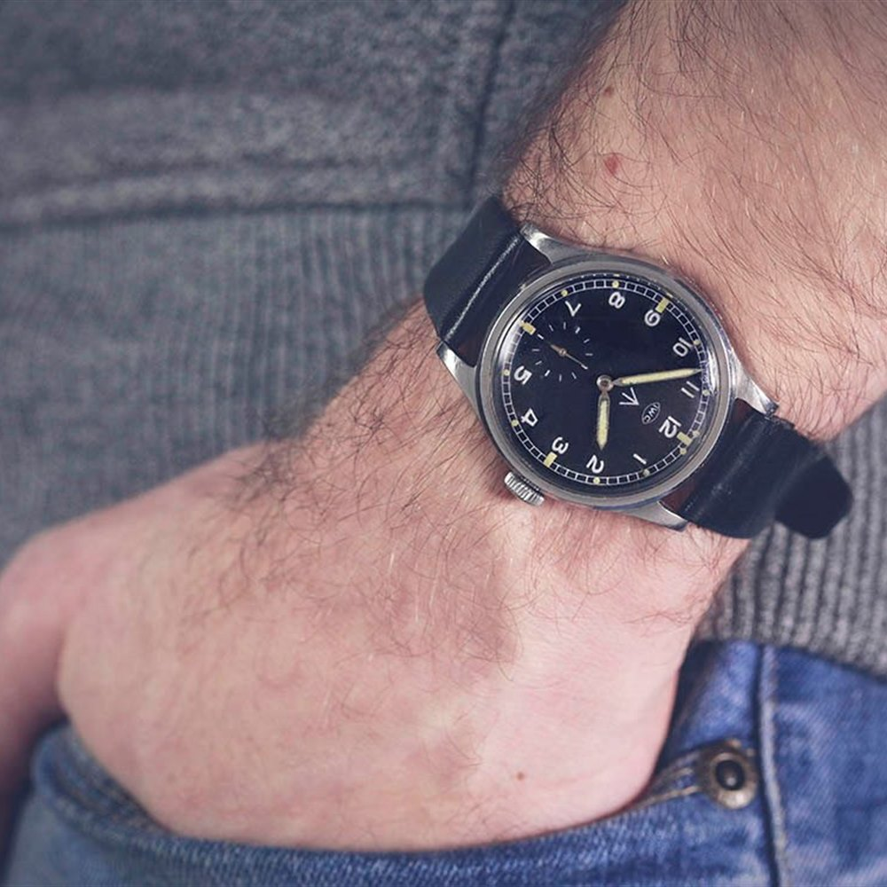 IWC Mark X Military Stainless Steel