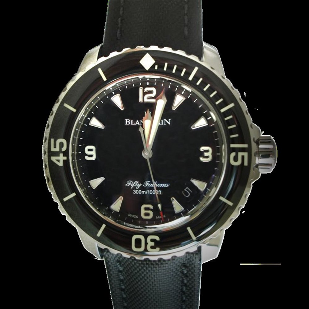 Blancpain Fifty Fathoms Stainless Steel 5015-1130-52