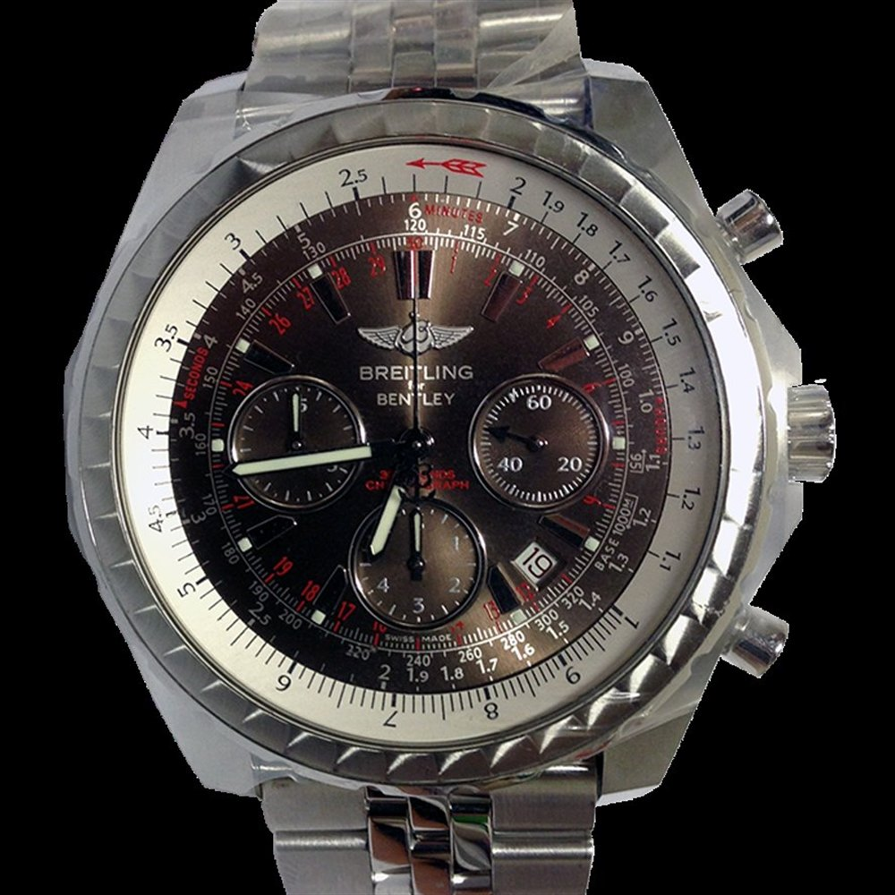 Breitling Bentley Stainless Steel Brushed & Polished A2536513.Q565